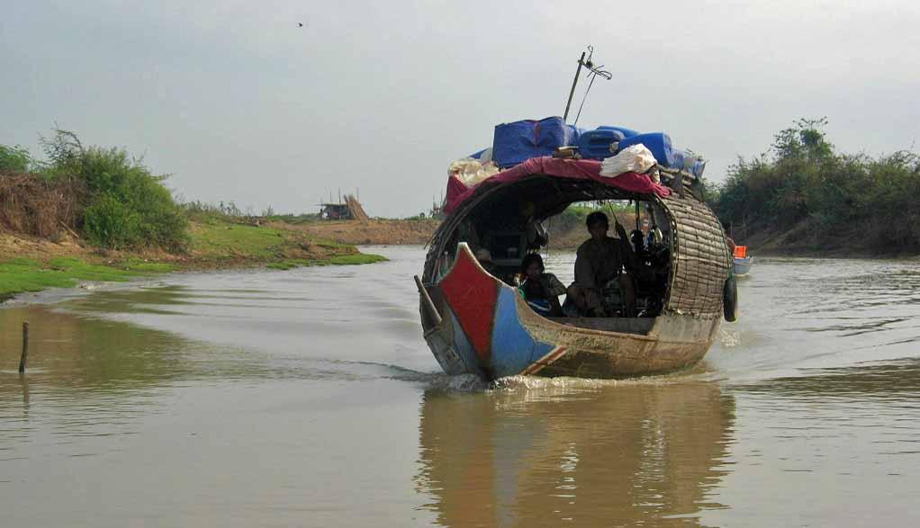 Kambodscha Reisen - Tonle Sap