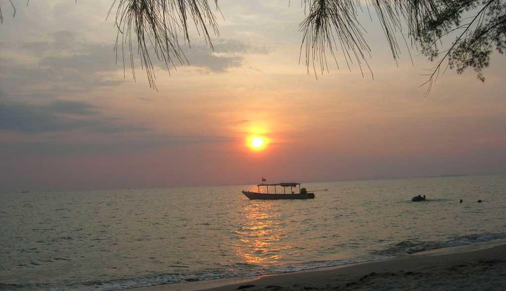 Kambodscha Reisen - Strand Koh Rong