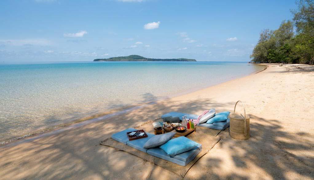 Kambodscha Reisen - Strandferien Six Senses